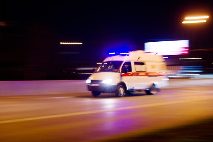 man dies in 3 car pile up